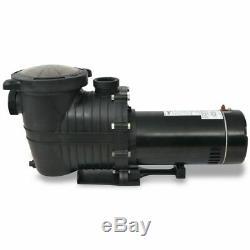 VidaXL Inground/Above-ground Pool Pump 1.5 HP Self Priming Water Cleaner