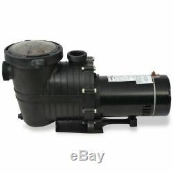 VidaXL Inground/Above-ground Pool Pump 1 HP Self Priming Water Cleaner System
