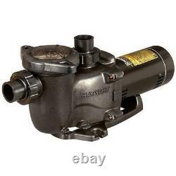 W3SP2310X15 -Single Speed 1-1/2HP Pool Pump, 115/230V Limited Warranty Hayward