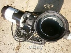 Waterway 1.5 HP Inground Swimming 2 Speed Pool Pump Motor Filter Basket