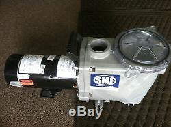 Waterway SMF-110 1HP 115/230V 1-Speed In Ground Swimming Pool Pump Kit