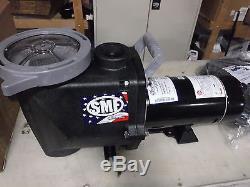 Waterway SMF-110 1HP 115/230V 1-Speed In Ground Swimming Pool Pump Kit (SKID33)