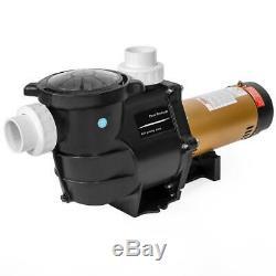 XTREMEPOWERUS 2 HP In Ground Pool Pump Dual Speed Self Priming Strainer Basket