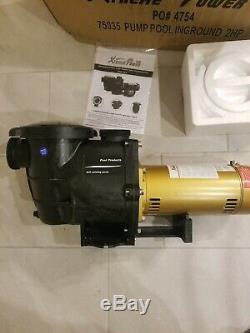 Xtreme Power 75035 PUMP POOL INGROUND 2HP 230V XtremePowerUsa