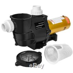Xtremepowerus 2Hp In-Ground Swimming Pool Pump 1-Phase 2 Inlet Dual Watt 230V